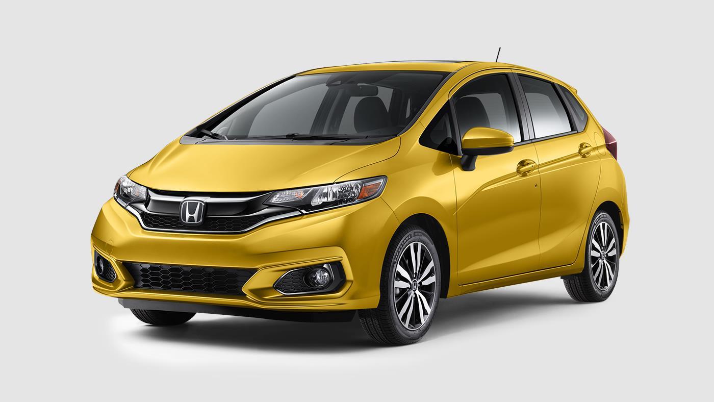 2019-Honda-Fit-in-Helios-Yellow-Pearl