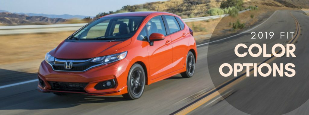 What Are The Color Options For The 2019 Honda Fit
