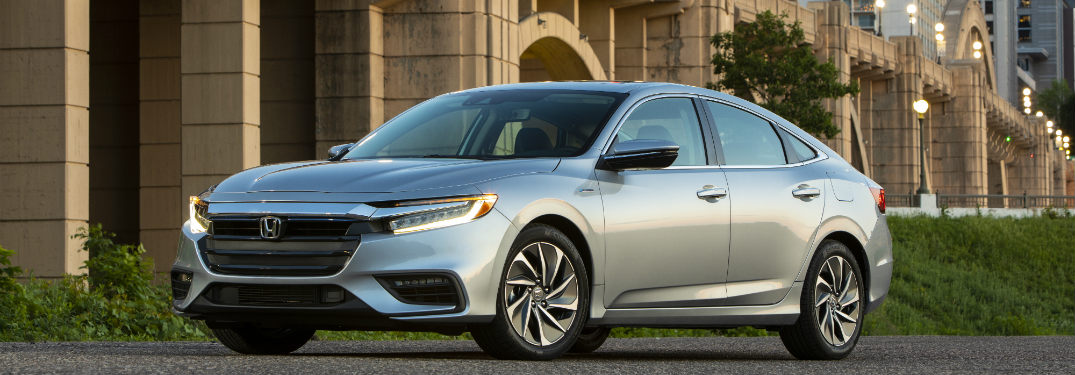 2019 Honda Insight parked on the street