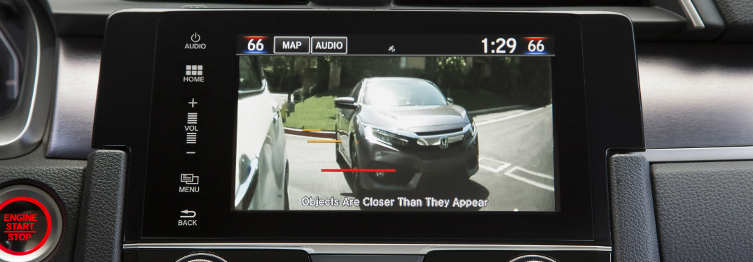 Honda sensing displayed on dashboard