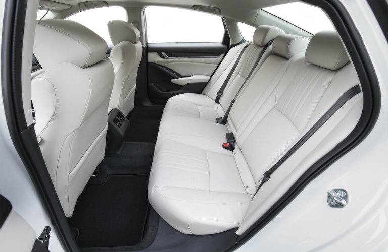 white rear seats inside honda accord