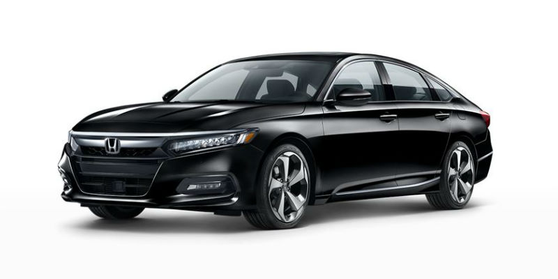 2019 Honda Accord in Crystal Black Pearl