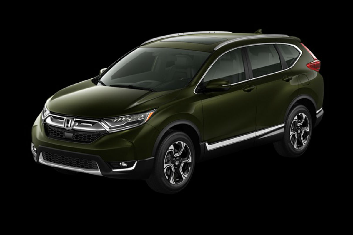 Exterior Paint Color Choices Of The 2019 Honda Cr V