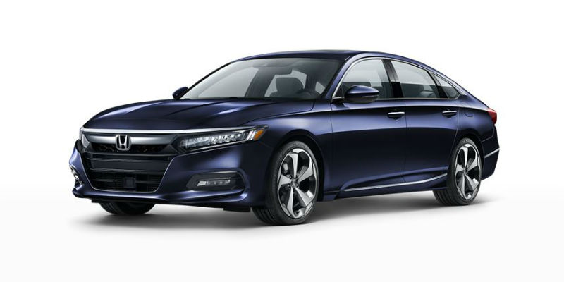 2019 Honda Accord in Obsidian Blue Pearl