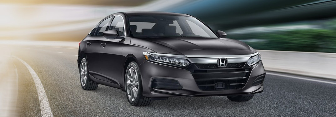 2019 Honda Accord driving down a highway