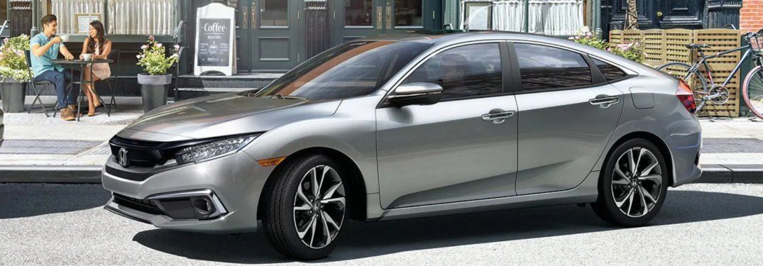 2019 Honda Civic parked on a city street