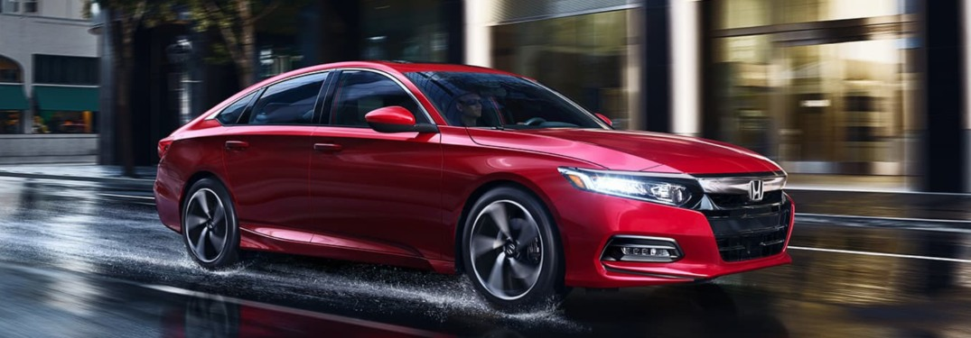 2020 Honda Accord Available Powertrains & Performance Ratings