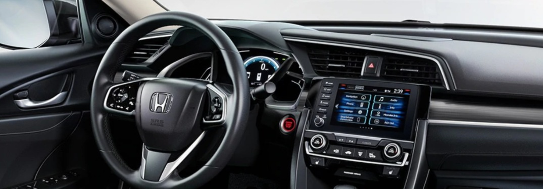 2020 Honda Civic Sedan dashboard