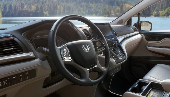 2020 Honda Odyssey dashboard