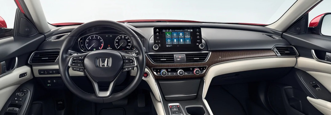 List of 2020 Honda Accord Interior Amenities