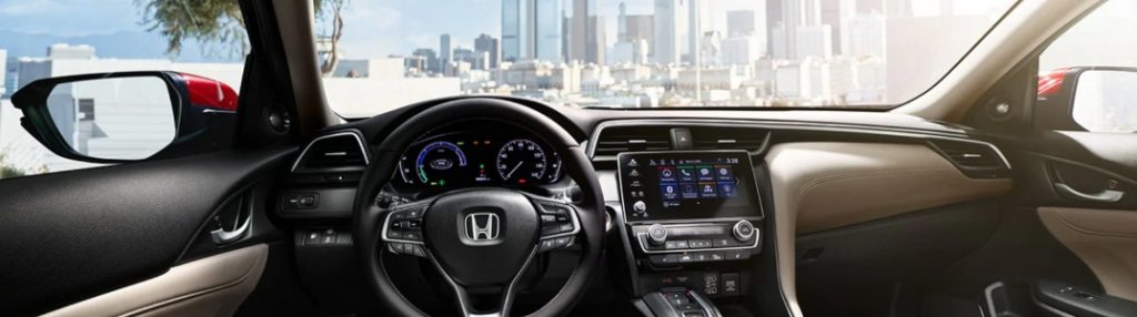 2020 Honda Insight dashboard