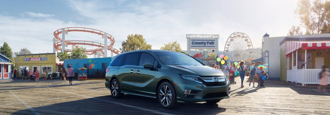 Advanced Driver Aids Available for the 2020 Honda Odyssey