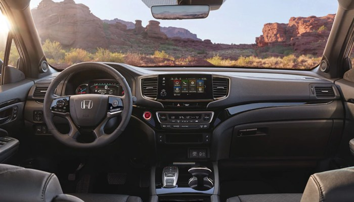 2020 Honda Passport dashboard