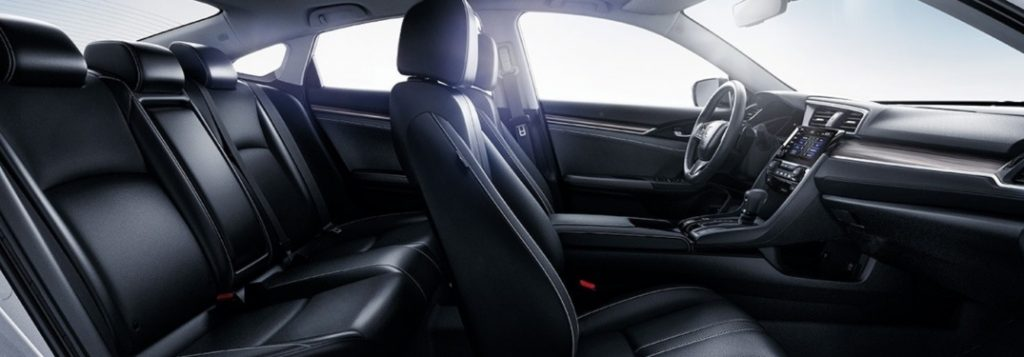 what comfort features come standard inside the 2020 honda civic sedan 2020 honda civic sedan