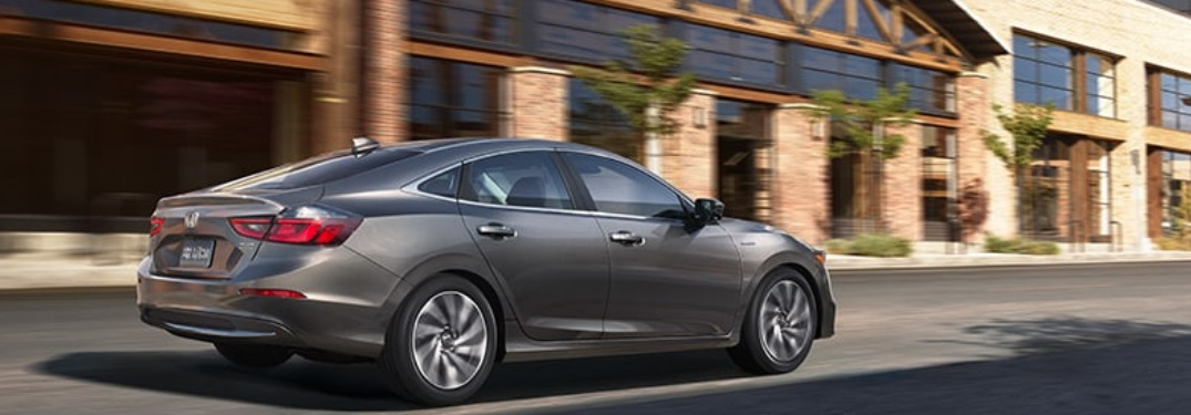 2020 Honda Insight Passenger Space Information