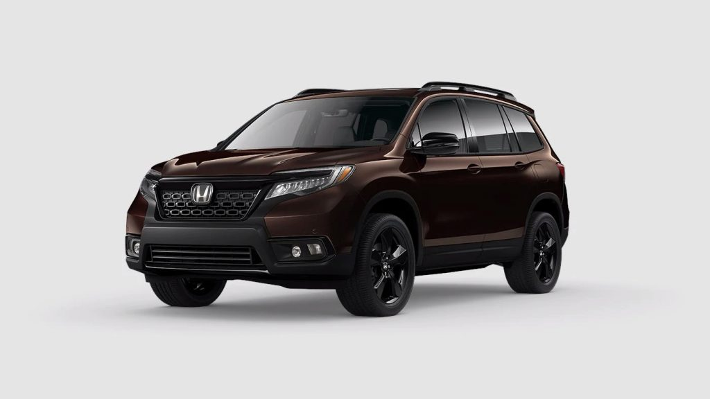 2020 Honda Passport Black Copper