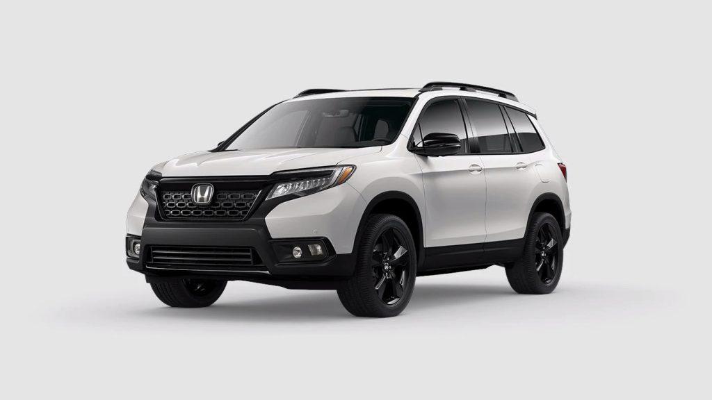 2020 Honda Passport Platinum White Pearl