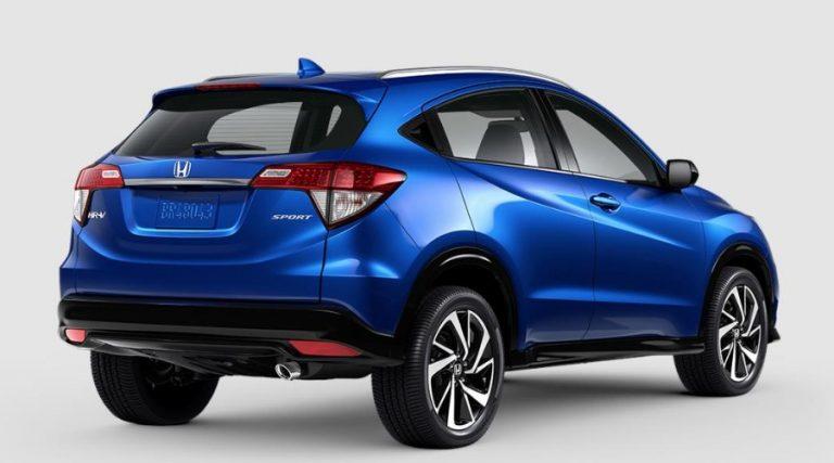 2020 Honda HR-V Aegean Blue Metallic