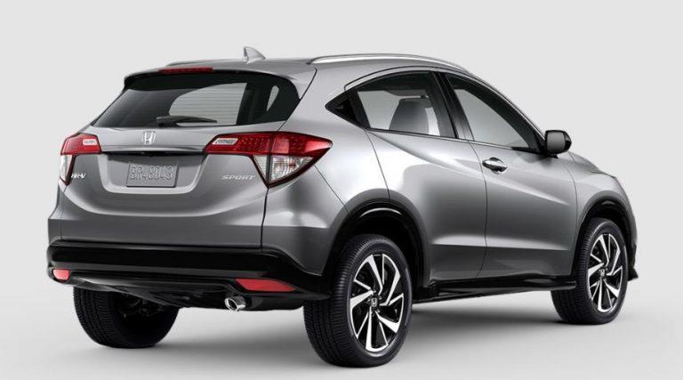 2020 Honda HR-V Lunar Silver Metallic