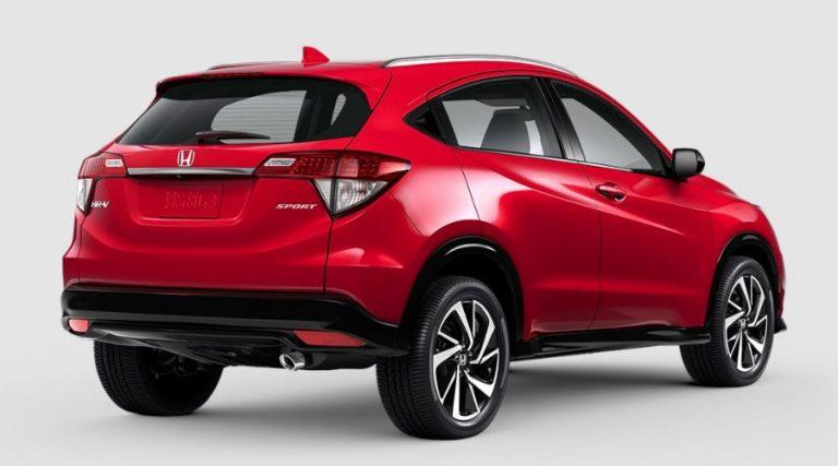 2020 Honda HR-V Milano Red