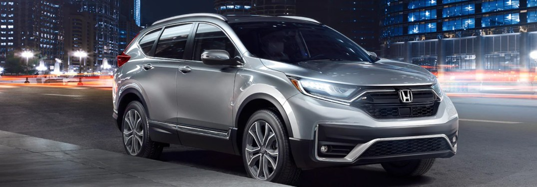 2020 Honda CR-V parked on the side of the road