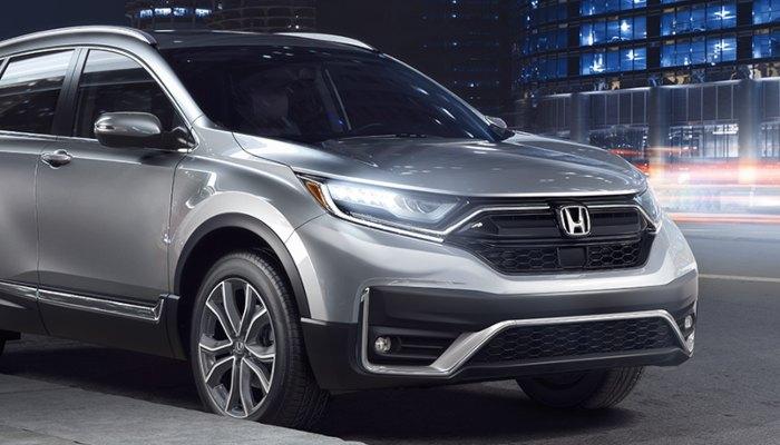 2020 Honda CR-V parked on a city street