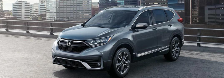 2020 Honda CR-V parked on a parking ramp