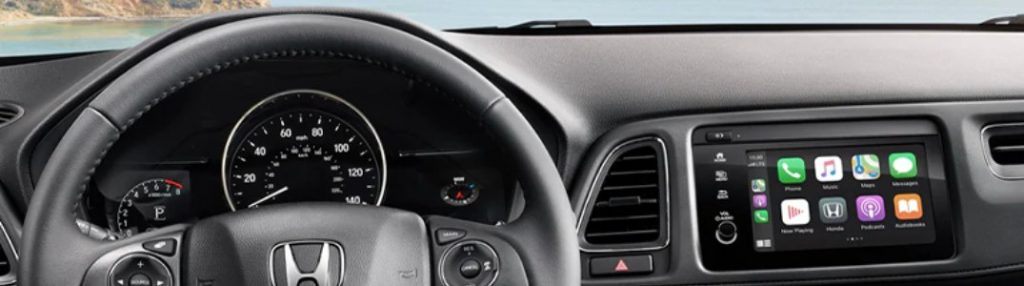 2020 Honda HR-V dashboard