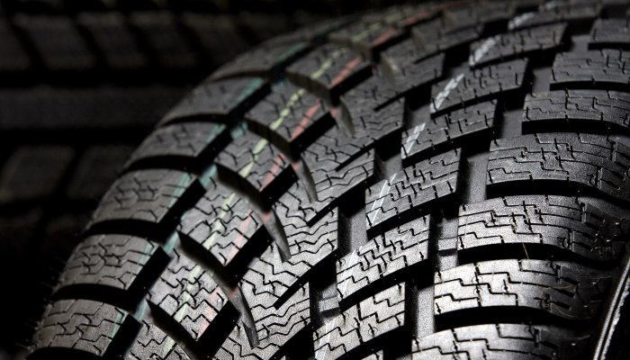 Tire close-up