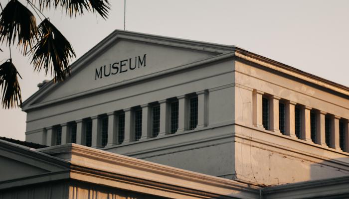 A museum exterior