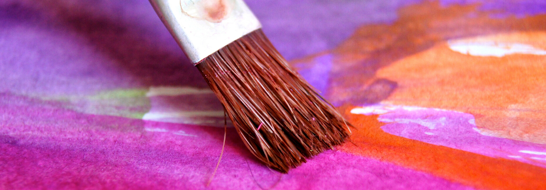 A Paintbrush painting