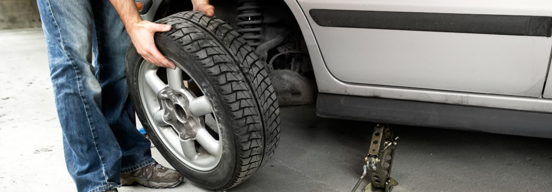 Changing out a vehicle's tire