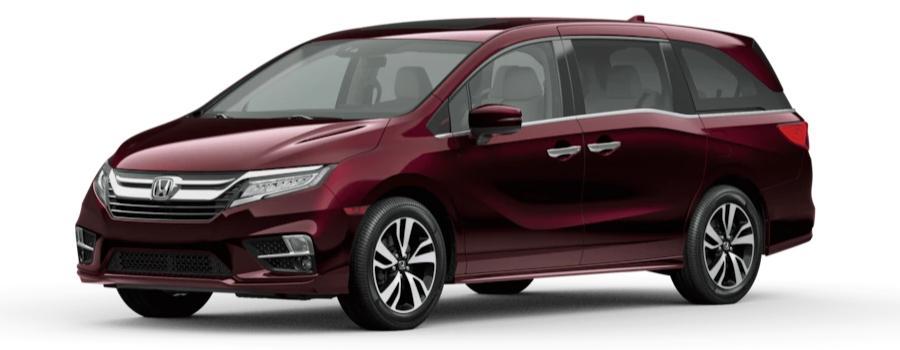 2020 Honda Odyssey deep Scarlet Pearl