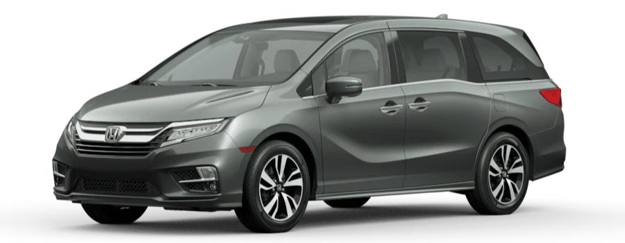 2020 Honda Odyssey Forest Mist Metallic