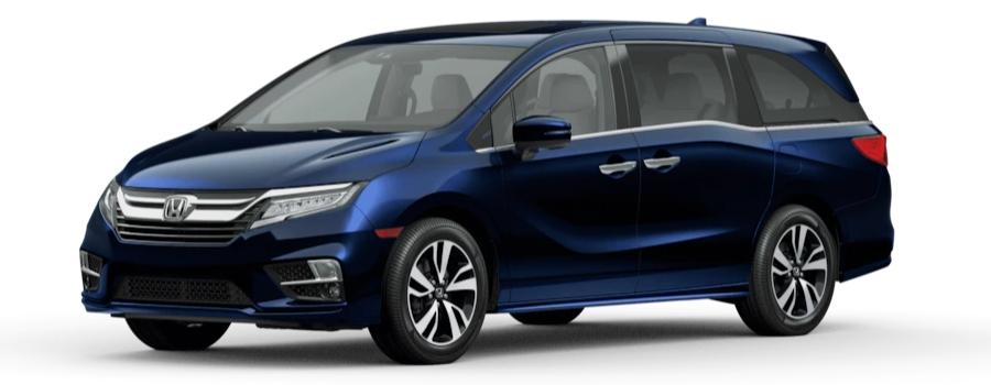 2020 Honda Odyssey Obsidian Blue Pearl