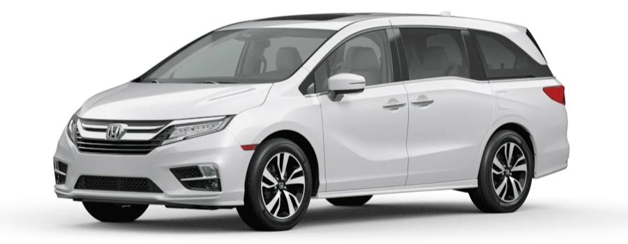 2020 Honda Odyssey Platinum White Pearl