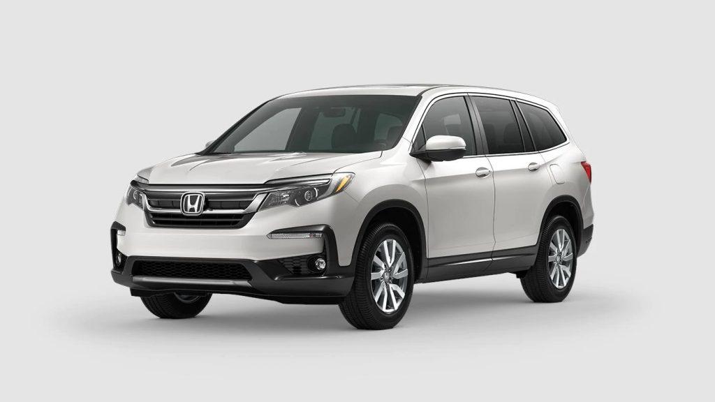 2020 Honda Pilot Platinum White Pearl