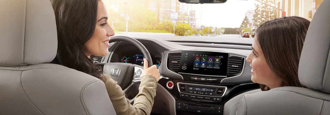 What Media Features and Systems are Offered in the 2021 Honda Pilot?