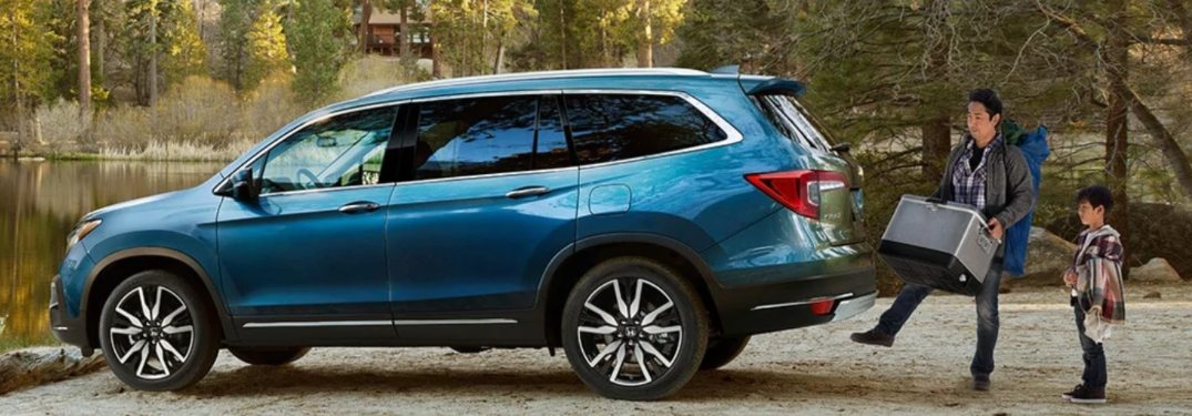 2021 Honda Pilot Cargo Capacity Ratings & Interior Volume Measurements