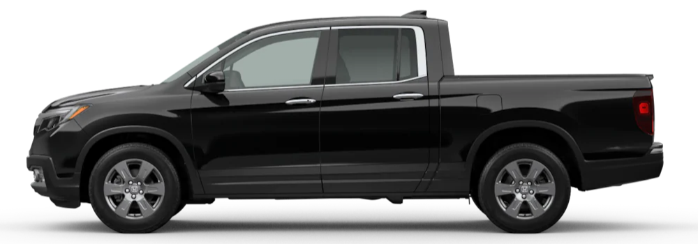 2020 Honda Ridgeline Crystal Black Pearl