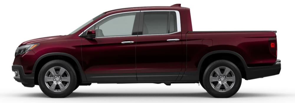 2020 Honda Ridgeline Deep Scarlet Pearl