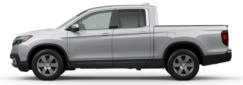 2020 Honda Ridgeline Lunar Silver Metallic