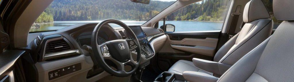 2021 Honda Odyssey dashboard