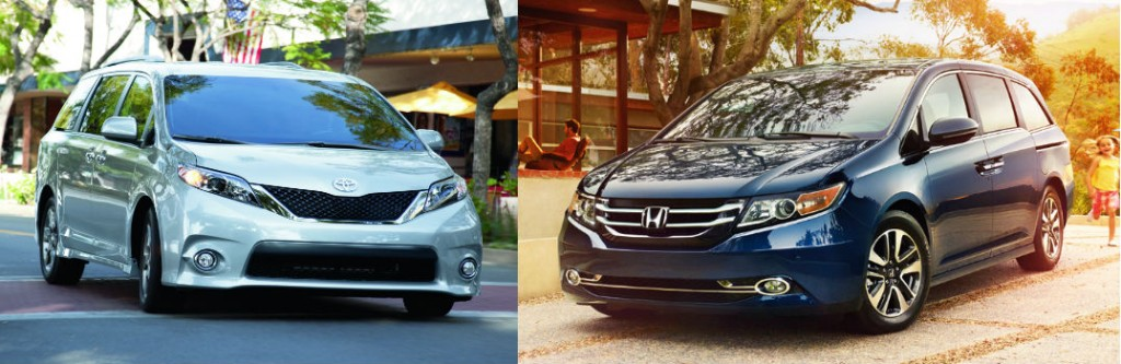 toyota sienna vs honda odyssey. Black Bedroom Furniture Sets. Home Design Ideas