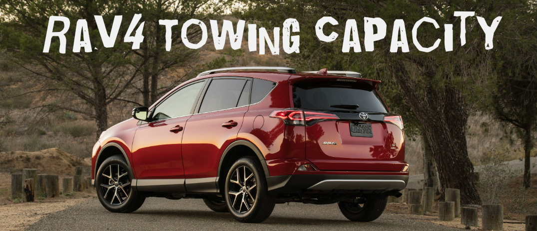 2016 Toyota Rav4 Towing Capacity - Install Trailer Hitch Rav4
