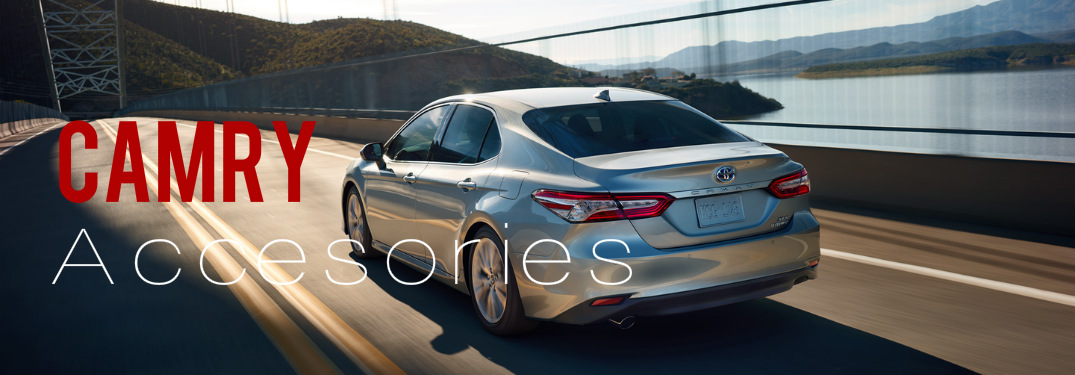 Toyota Camry Accessories >> What Accessories Are Available For The 2018 Toyota Camry