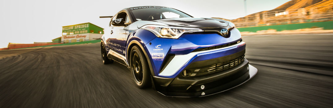 What did Toyota have on display at the 2017 SEMA Show?