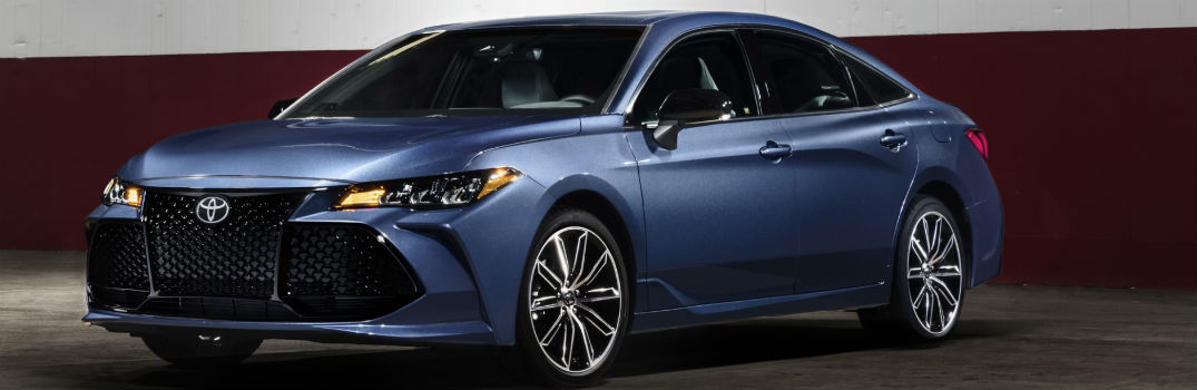 2019 Toyota Avalon XSE Exterior Driver Side Front Profile