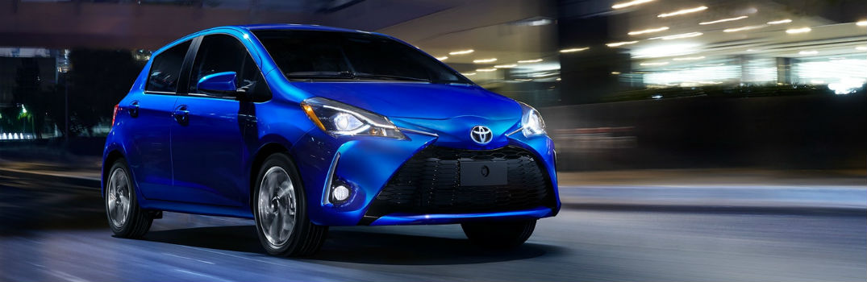 2018 Toyota Yaris Exterior Passenger Side Front