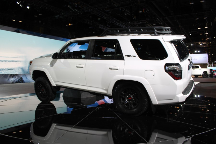 2019 Toyota Trd Pro Series Models Chicago Auto Show Photo Gallery